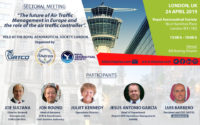 """""""The future of ATM in Europe and the role of the air traffic controller"""" - London, 24 April 2019"""