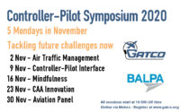 3rd Controller-Pilot Symposium - Online in November